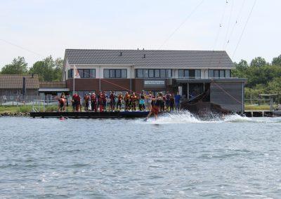 wakeboard vanaf water